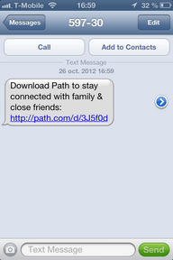 Path Mobile App Distribution