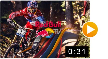 Motion Design RedBull App Video Mobile iOS Preview