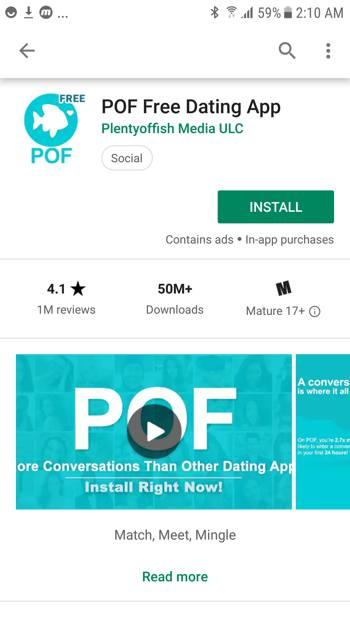 POF Android Feature Graphic Fail
